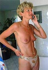 Tabulose Telefonsex Milf nackt